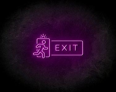 Exit LED Neon Sign - Neon verlichting