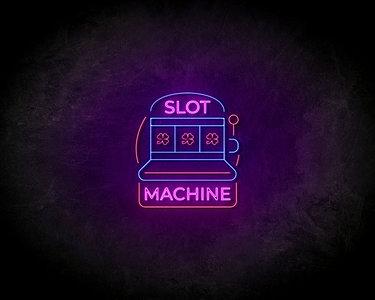 Slot machine LED Neon Sign - Neon verlichting
