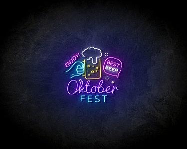 Oktoberfest LED Neon Sign - Neon verlichting