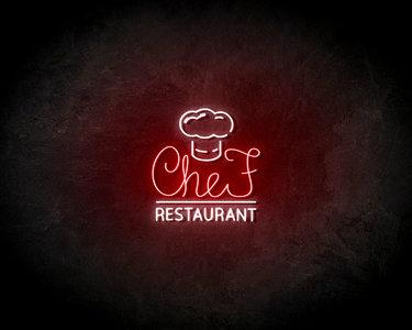 Chef's restaurant LED Neon Sign - Neon verlichting