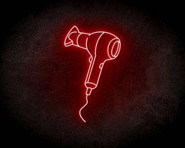 Blow Dryer Neon Sign - Neonreclame borden