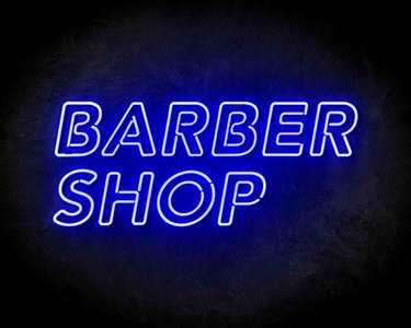 Barbershop Neon Sign - Neonreclame borden