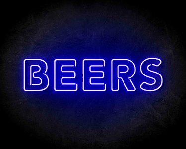 Beers Neon Sign - Neonreclame borden