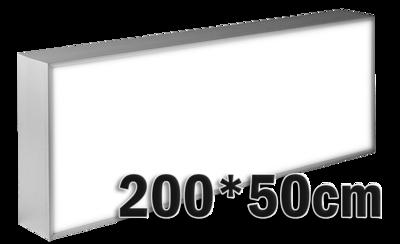 LED lichtbak 200x50cm