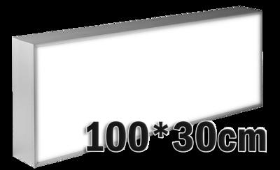 LED lichtbak 100x30cm