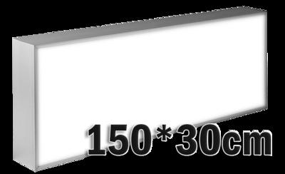 LED lichtbak 150x30cm