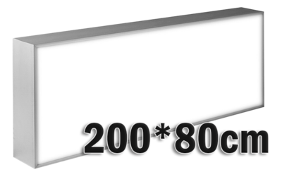 LED lichtbak 200x80cm
