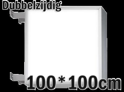 LED lichtbak 100x100cm - Dubbelzijdig