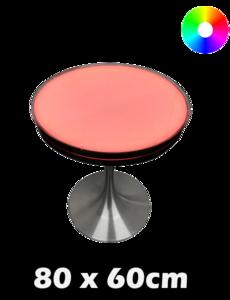 LED tafel 80 x 60 cm