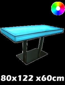 LED tafel 80 x 122 x 60 cm