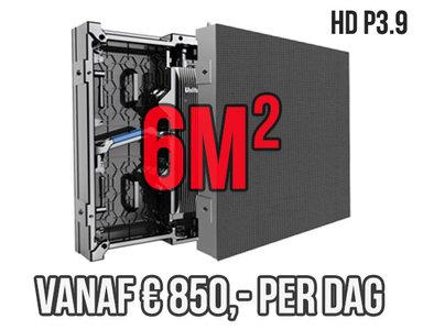 Modulair LED scherm 6m2 - Verhuur 1 dag