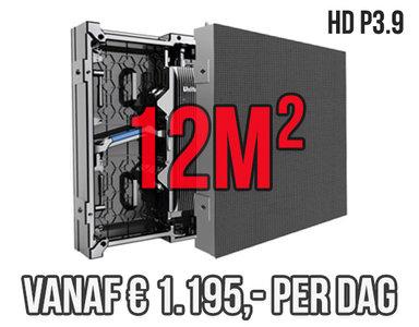 Modulair LED scherm 12m2 - Verhuur 1 dag