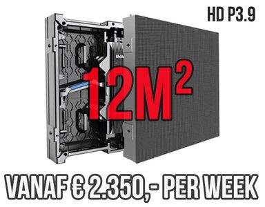 Modulair LED scherm 12m2 - Verhuur 1 week