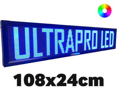 UltraPro series - Professionele LED lichtkrant afm. 108 x 23,8 x 7cm