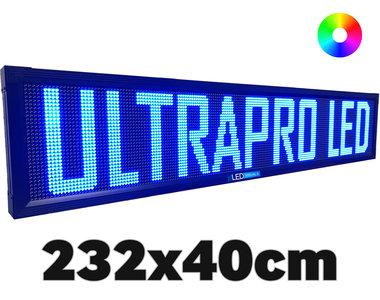 UltraPro series - Professionele LED lichtkrant afm. 232 x 40 x 7 cm