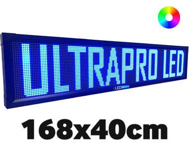 UltraPro series - Professionele LED lichtkrant afm. 168 x 40 x 7 cm
