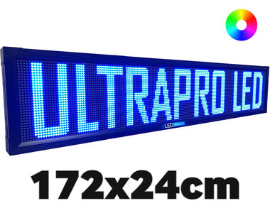 UltraPro series - Professionele LED lichtkrant afm. 172 x 23,8 x 7 cm