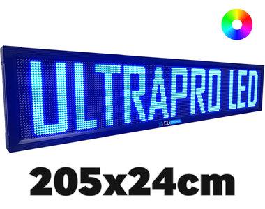 UltraPro series - Professionele LED lichtkrant afm. 205 x 23,8 x 7 cm
