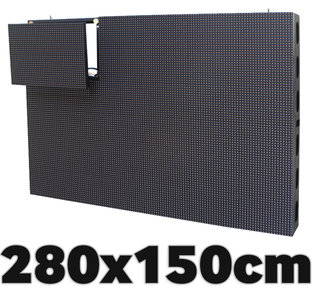 All-In-One LED video display 2800 x 1500 mm