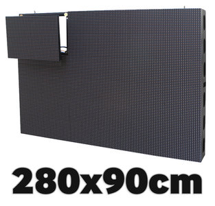 All-In-One LED video display 2800 x 900 mm