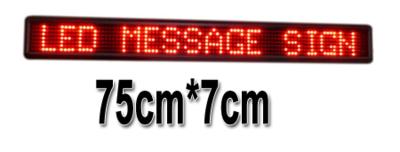 LED lichtkrant 75*7cm