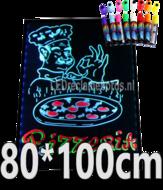 LED-schrijfbord-80cm*100cm-|-90-functies