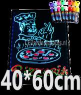 LED-schrijfbord-40cm*60cm-|-90-functies