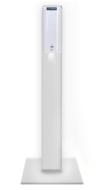 Automatische-handgel-desinfectiezuil-Desinfectiepaal-dispenser-contactloos