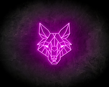 WOLF-neon-sign-LED-neon-reclame-bord