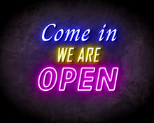 COME-IN-OPEN-DOUBLE-neon-sign-LED-neon-reclame-bord