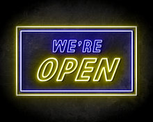 WERE-OPEN-neon-sign-LED-neon-reclame-bord