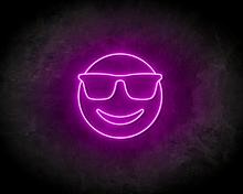 SUNGLASSES-SMILEY-neon-sign-LED-neon-reclame-bord