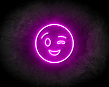 BLINK-SMILEY-neon-sign-LED-neon-reclame-bord