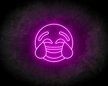 LAUGH-SMILEY-neon-sign-LED-neon-reclame-bord