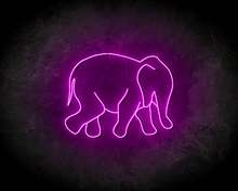 OLIPHANT-LINE-ART-neon-sign-LED-neon-reclame-bord