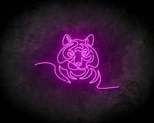 TIGER-neon-sign-LED-neon-reclame-bord