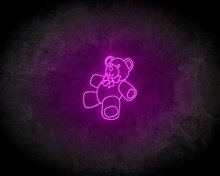 TEDDYBEER-neon-sign-LED-neon-reclame-bord