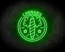 CANNABIS-neon-sign-LED-neon-reclame-bord