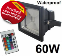 RGB LED bouwlamp 60W