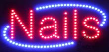 LED bord 'NAILS' round