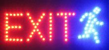 LED bord 'EXIT'