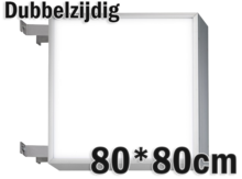 LED-lichtbak-80x80cm-Dubbelzijdig