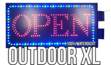 Outdoor LED open bord XL