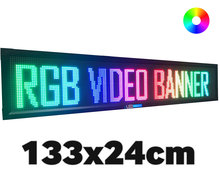UltraPro-LED-video-lichtkrant-133*24cm-RGB