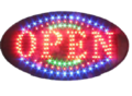 LED-bord--OPEN-round