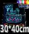 LED schrijfbord 30cm*40cm | 90 functies_
