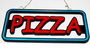 LED pizza sign 'Neon' _